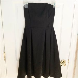 H&M | Black Strapless Dress